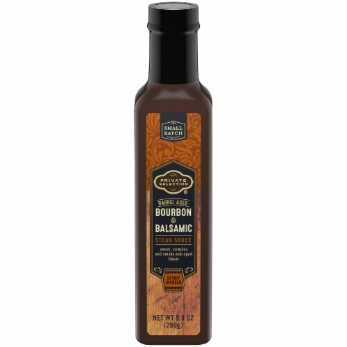 Private Selection™ Bourbon & Balsamic Steak Sauce Perspective: front
