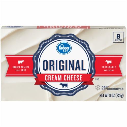 Kroger® Original Cream Cheese Perspective: front