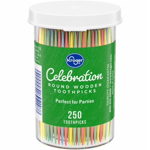 Kroger®  Colored Toothpicks Perspective: front