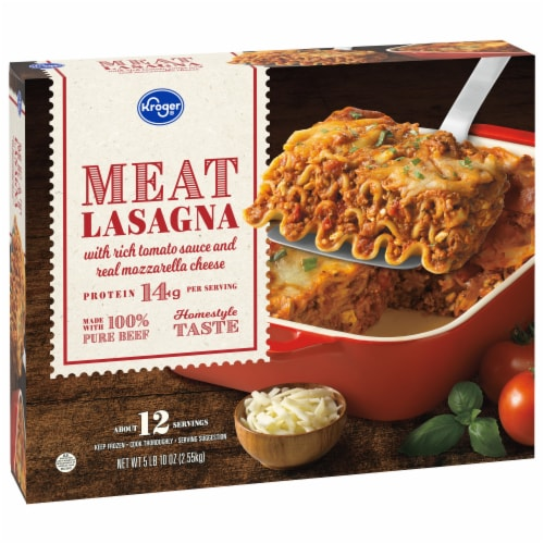 Kroger® Meat Lasagna Party Size Perspective: front