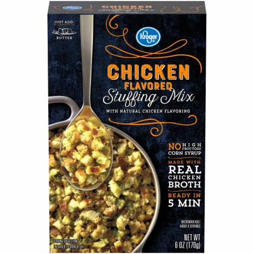 Kroger® Chicken Flavored Stuffing Mix Perspective: front