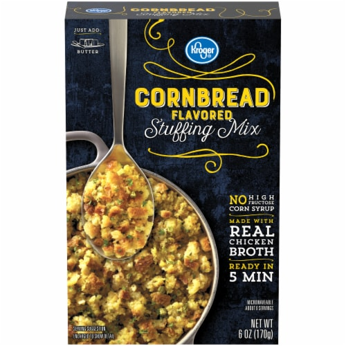 Kroger® Cornbread Flavored Stuffing Mix Perspective: front