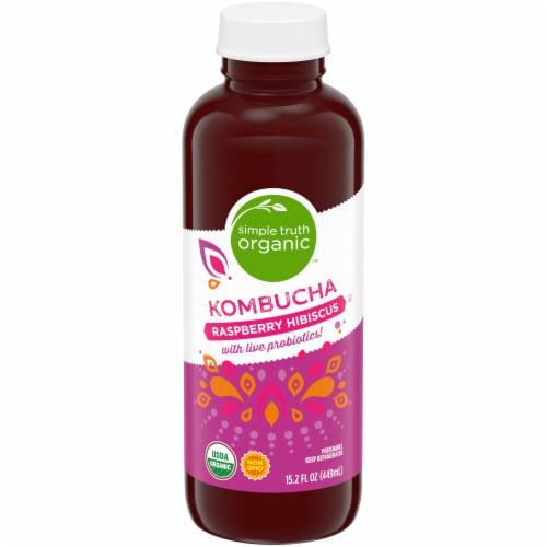 Simple Truth Organic™ Raspberry Hibiscus Kombucha Perspective: front