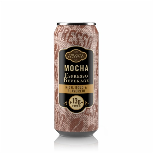 Private Selection™ Mocha Espresso Beverage Perspective: front