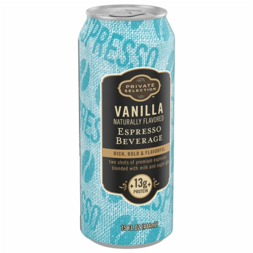 Private Selection™ Vanilla Naturally Flavored Espresso Beverage Perspective: front