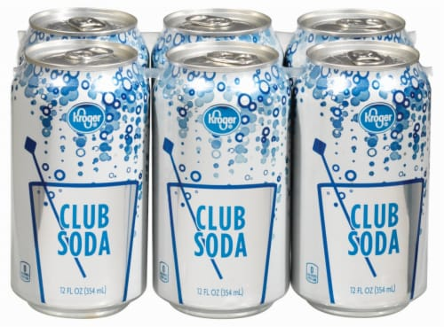 Kroger® Club Soda Perspective: front