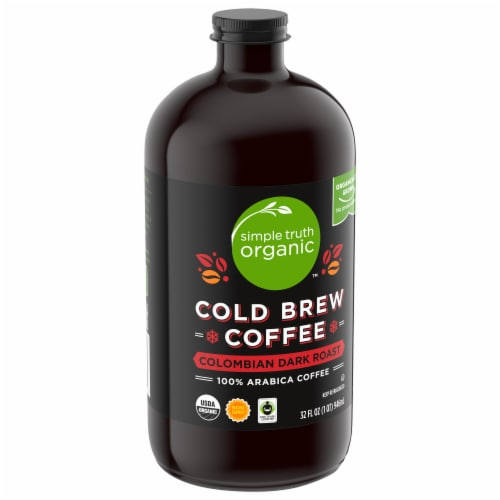 Simple Truth Organic™ Colombian Dark Roast Cold Brew Coffee Perspective: front
