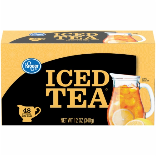 Kroger® Iced Tea Bags 48 ct Perspective: front