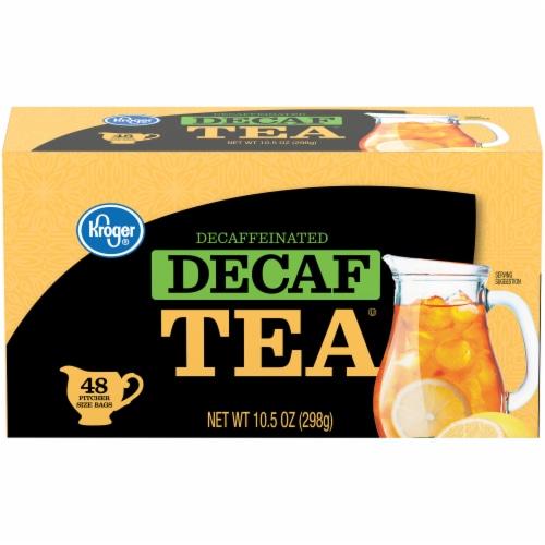 Kroger® Decaf Tea Bags Perspective: front