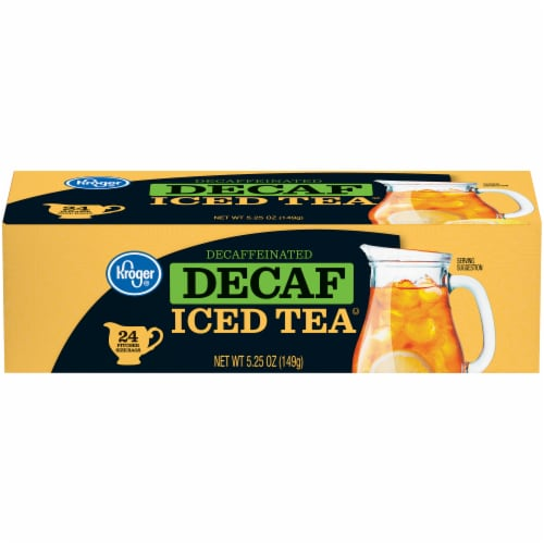 Kroger® Decaf Iced Tea Bags Perspective: front