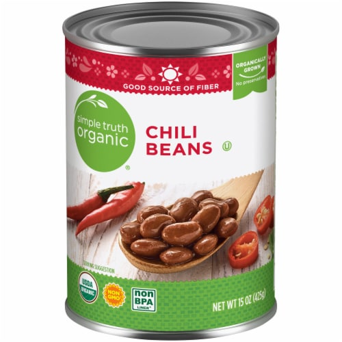 Simple Truth Organic® Chili Beans Perspective: front