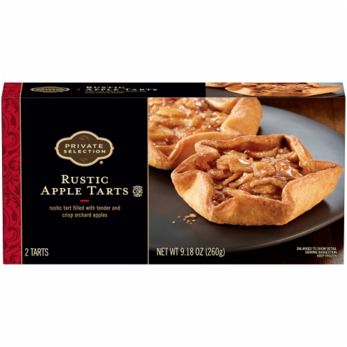 Private Selection™ Rustic Apple Tarts Perspective: front