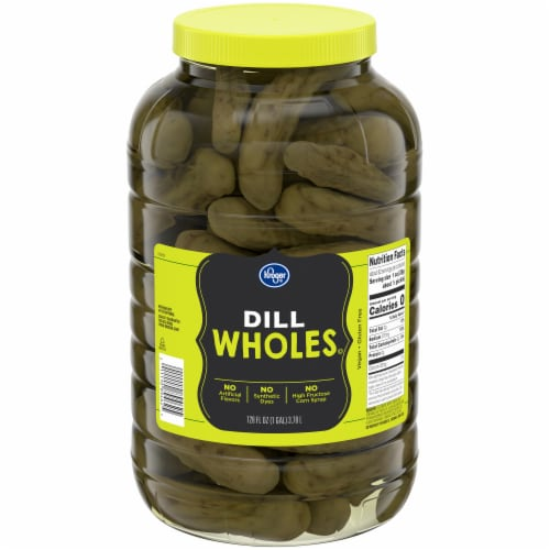 Kroger® Whole Dill Pickles Perspective: front