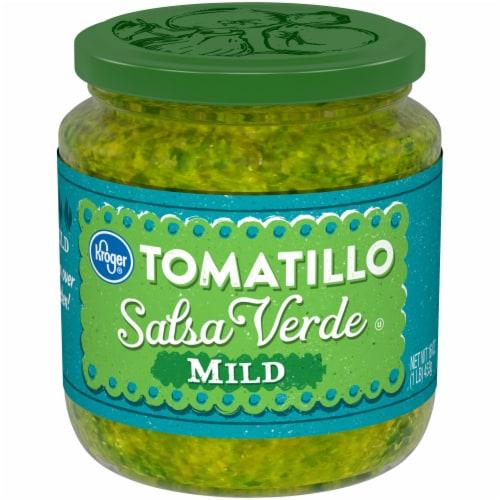 Kroger® Mild Tomatillo Salsa Verde Perspective: front