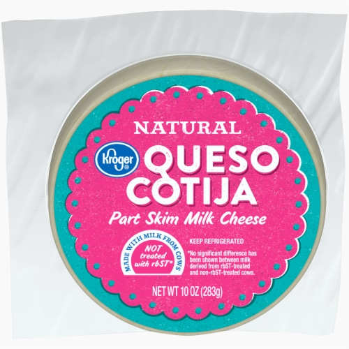 Kroger® Part Skim Milk Queso Cotija Perspective: front