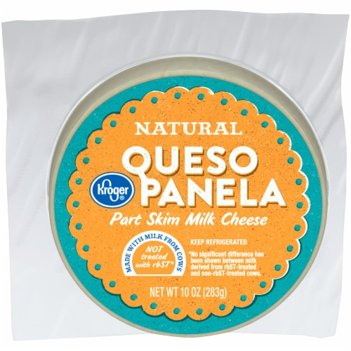 Kroger® Part Skim Milk Queso Panela Cheese Perspective: front