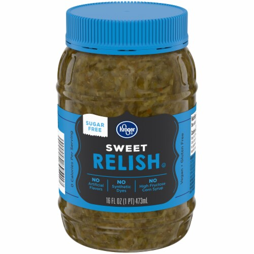 Kroger® Sugar-Free Sweet Relish Perspective: front