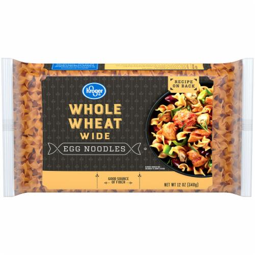 Kroger® Whole Wheat Wide Egg Noodles Perspective: front