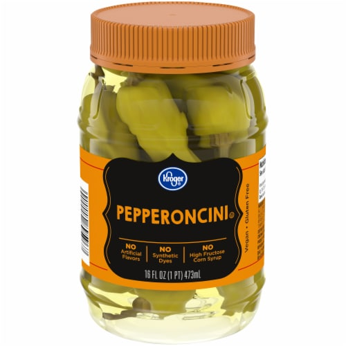 Kroger® Pepperoncini Perspective: front