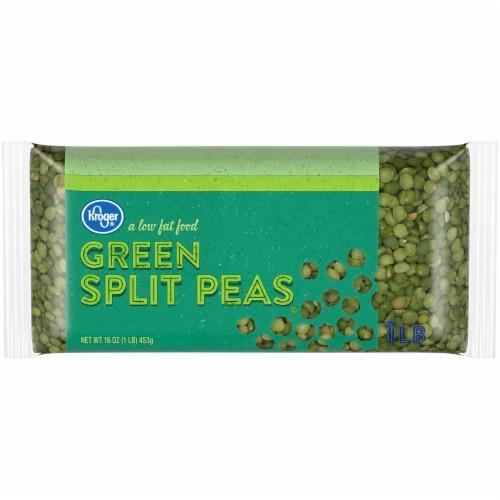 Kroger® Green Split Peas Perspective: front