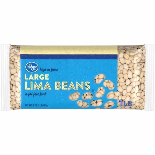 Kroger® Large Lima Beans Perspective: front