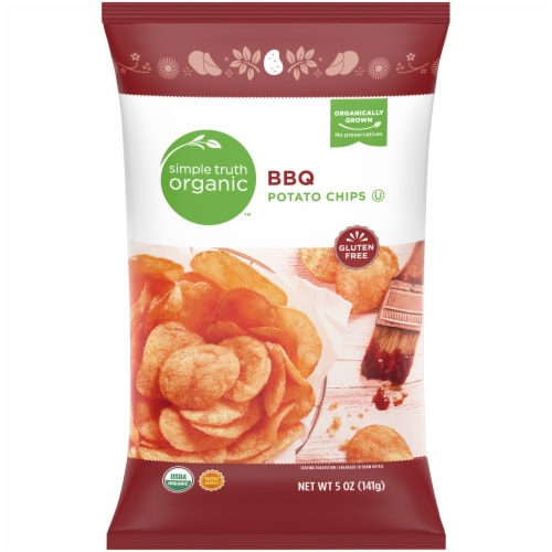 Simple Truth Organic™ BBQ Potato Chips Perspective: front