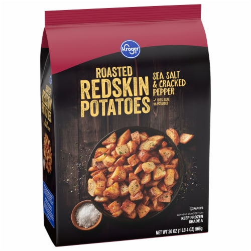 Kroger® Sea Salt & Cracked Black Pepper Roasted Redskin Potatoes Perspective: front