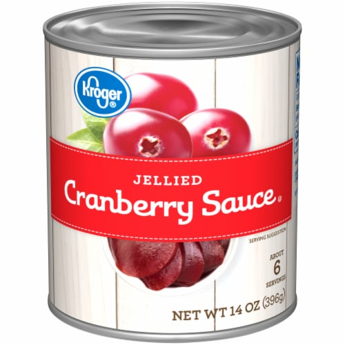 Kroger® Jellied Cranberry Sauce Perspective: front