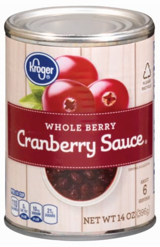 Kroger® Whole Berry Cranberry Sauce Perspective: front
