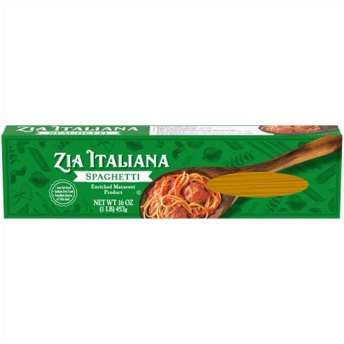 Zia Italiana Spaghetti Pasta Perspective: front