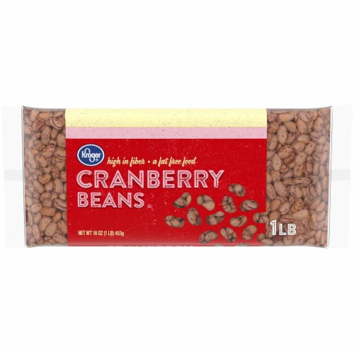 Kroger® Cranberry Beans Perspective: front