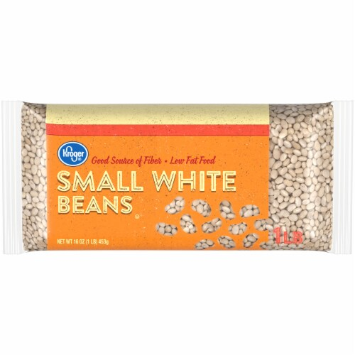 Kroger® Small White Beans Perspective: front