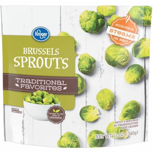 Kroger® Traditional Favorites Brussels Sprouts Perspective: front