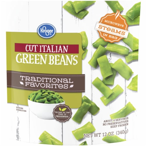 Kroger® Traditional Favorites Cut Italian Green Beans Perspective: front