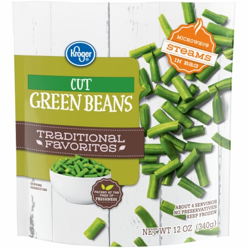 Kroger® Traditional Favorites Cut Green Beans Perspective: front