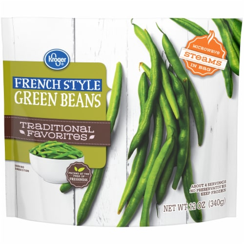 Kroger® Traditional Favorites French Style Green Beans Perspective: front
