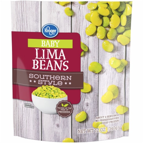 Kroger® Southern Style Frozen Baby Lima Beans Perspective: front
