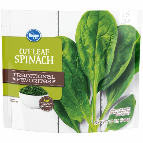 Kroger® Traditional Favorites Cut Leaf Spinach Perspective: front