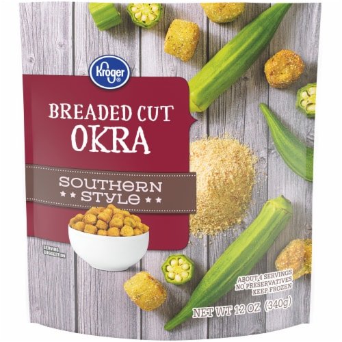 Kroger® Southern Style Breaded Cut Okra Perspective: front