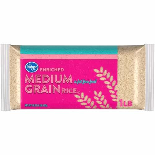 Kroger® Enriched Medium Grain Rice Perspective: front