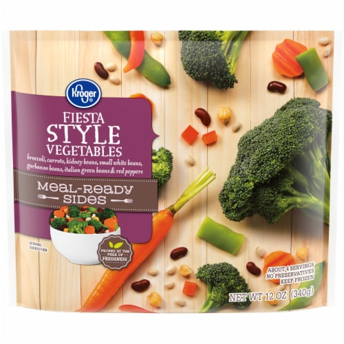 Kroger® Meal-Ready Sides Fiesta Style Vegetables Perspective: front