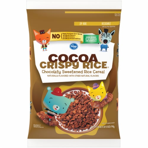 Kroger® Cocoa Crispy Rice Cereal Perspective: front