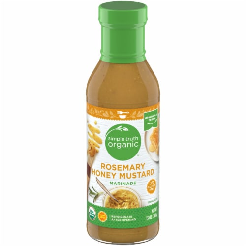 Simple Truth Organic™ Rosemary Honey Mustard Marinade Perspective: front