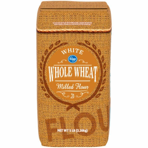 Kroger® White Whole Wheat Milled Flour Perspective: front