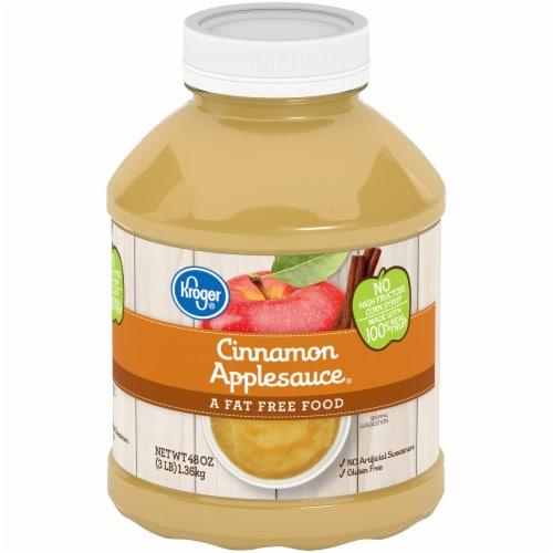 Kroger® Cinnamon Applesauce Perspective: front