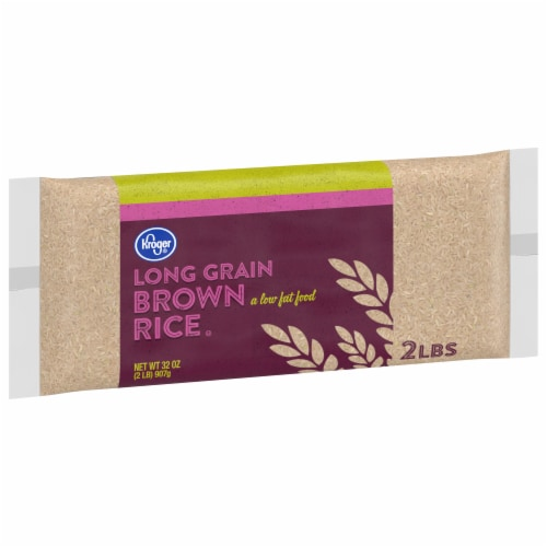 Kroger® Long Grain Brown Rice Perspective: front