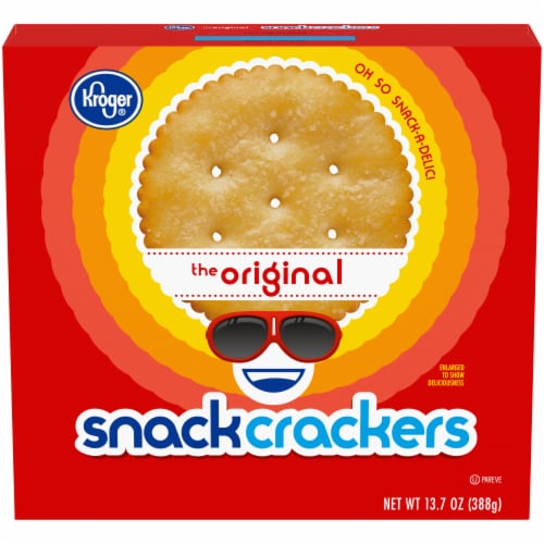 Kroger® Original Snack Crackers Perspective: front