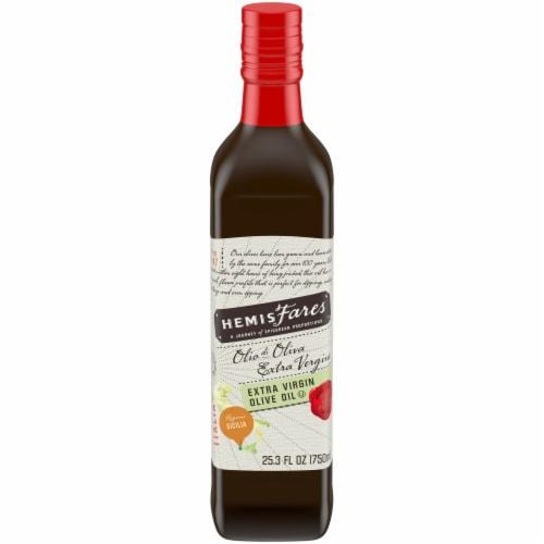 HemisFares™ Extra Virgin Olive Oil Perspective: front