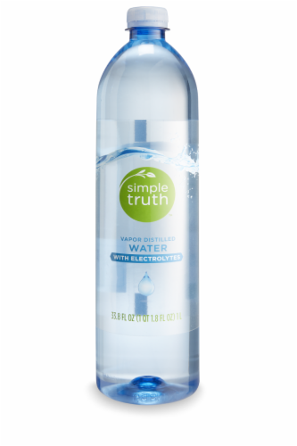 Simple Truth™ Water with Electrolytes Perspective: front
