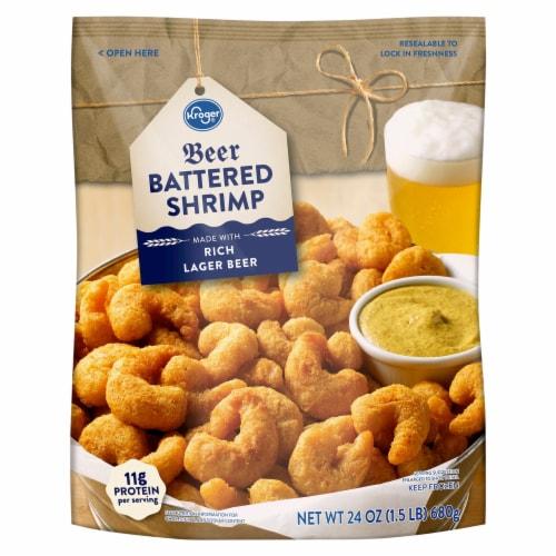 Kroger® Beer Battered Shrimp Perspective: front